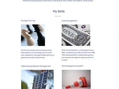 Redesign complete website.