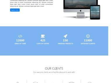 Front end web developer/designer