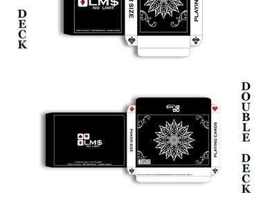 LM$ Playing Card Deck Presentation.