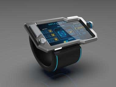 Concept Design Smart Wrist Wearable
