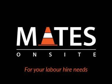 Business Card & Logo - Mates On Site