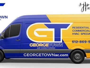 Logo Design & Truck Wrap