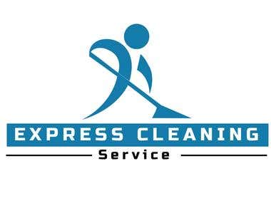 Logo For Express Cleaning Services.