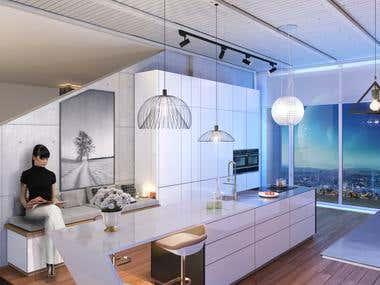 Interior and exterior design; Architecture