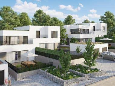 Residential Area Visualization