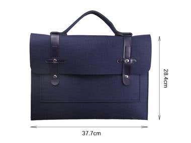 Emilia Alighieri Laptop Shoulder Bag