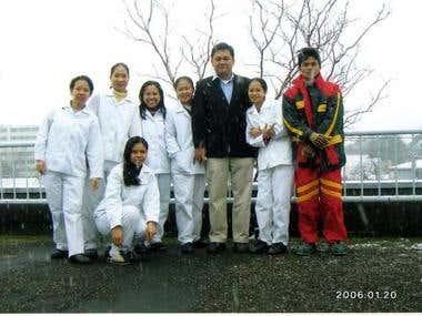 Trainees in Japan