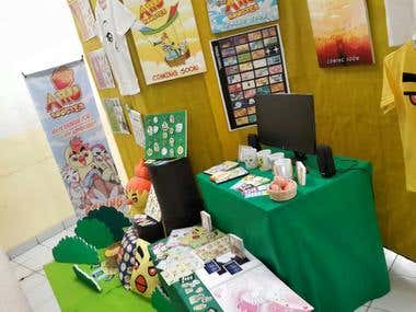 Merchandise Design and Booth Display