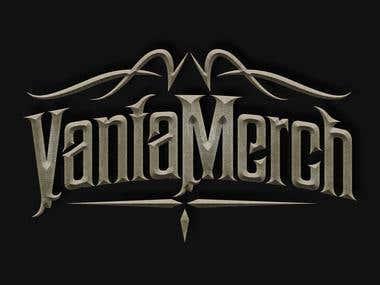 Gothic style logos.