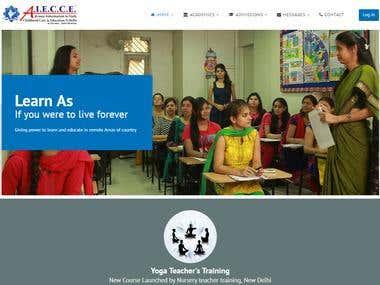 Nursery Teacher Training | Advance Education India | AIECCE