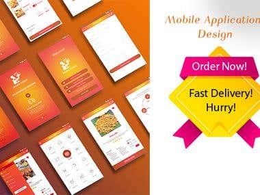 Mobile Application UI & UX Design