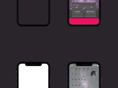 Space App Ui Design
