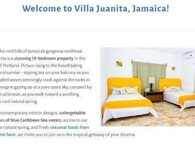 Vacation Rental Client - VillaJuanitaJamaica.com