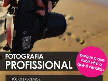 Flyer photography