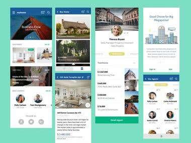 Real Estate App - Mobile & Website