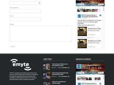 Web design www.emyte.com.ar