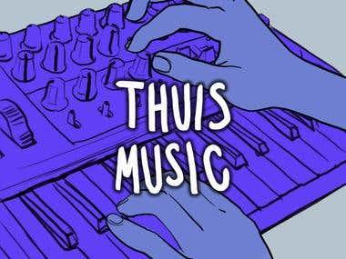 Thuis Music Logo