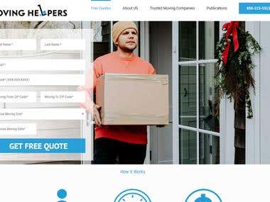 Moving Helpers's Design & Page Speed Work
