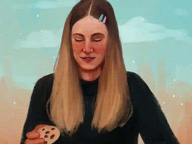Cookie girl