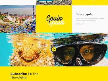 Epic sports tour website