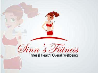 Logo Design for Sinn's Fitness