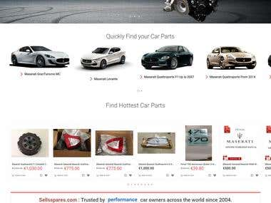 E-commerce Magento Site on 1.9