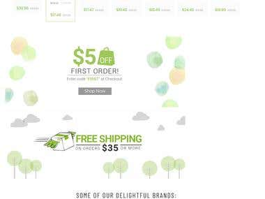 E-Commerce Shopify Site
