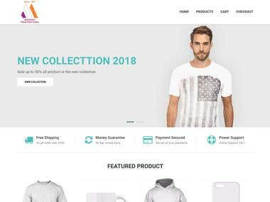Madhu Scan - Customized Online Printing E-Commerce Portal