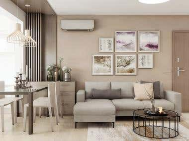 Interior Design Project - Apartment Renovation Project