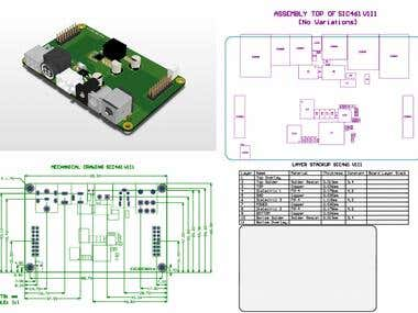 SIC461 High Current Switch Module Power Supply (SMPS) Hub