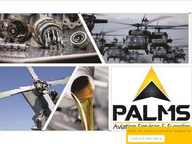 website for aeronautical parts company