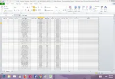 Convert document from pdf to excel