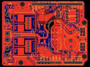 Solar Tracking Shield for Arduino