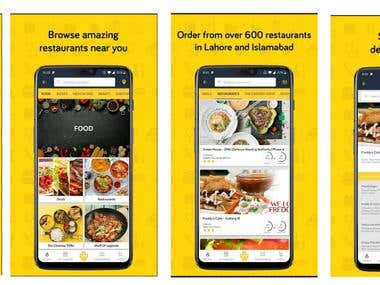 Cheetay Mobile App for Android & iOS Clone