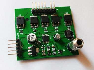 Disco Lighting module with IR remote control