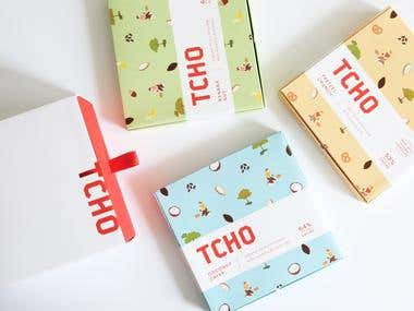 TCHO Chocolate Packaging Redesign