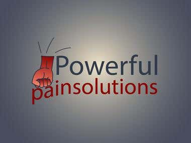Logo Design for PowerfullPainSolution.