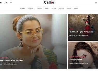 Callie WordPress Theme