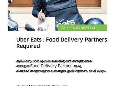 Flyer Uber