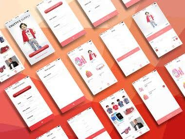 Mobile Application UI and UX Design
