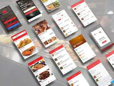 Cooking Application UI and UX Design
