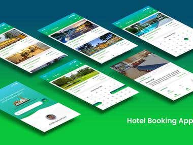 Hotel Booking Mobile UI & UX Design