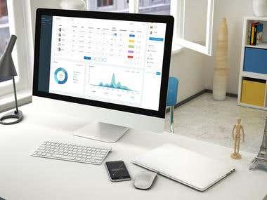 Facility Management Web Application Design