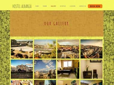Hotel reservation site