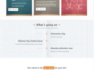 WordPress Design: ChildsLearning.com