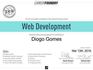 Full Stack Web Developer Certificate