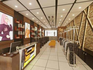 Shop Design in Djibouti Bawadi Mall, Djiobouti