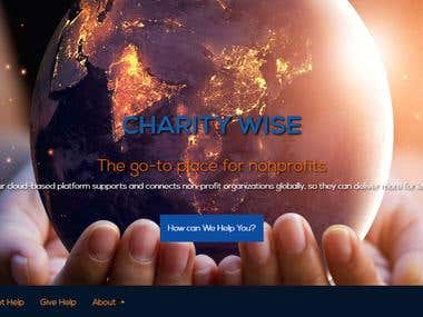 Charitywise website