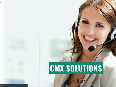 Call Center Website