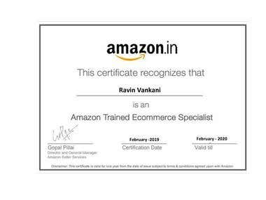 Amazon Certified Ecommerce Specialist